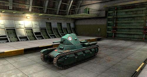 AMX 38 самый бронированный танк 3-го уровня