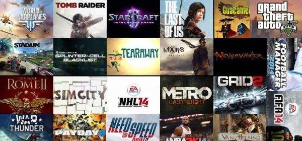 top игр 2013