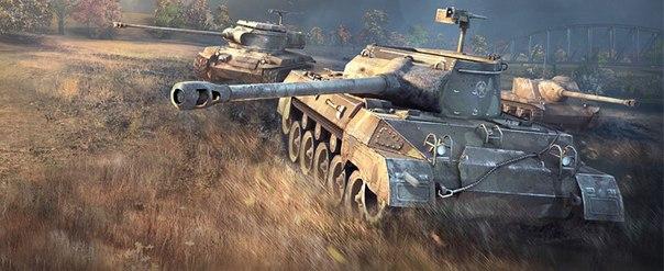 Учимся играть на танке hellcat хелкат