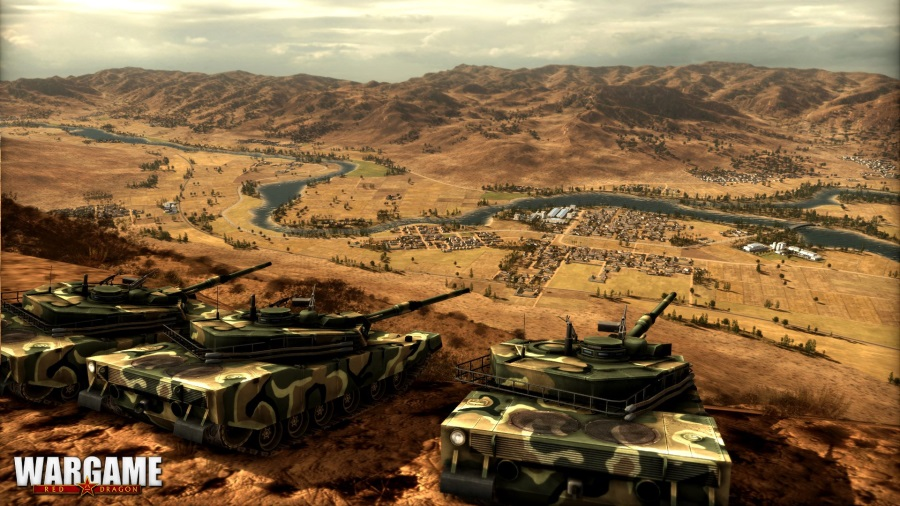 Онлайн статегия 2014 года Wargame Red Dragon