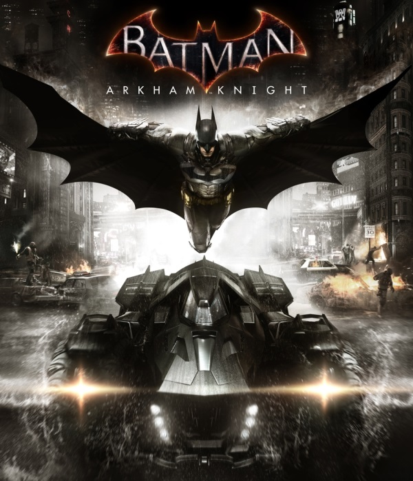 Arkham Knight  обложка игры