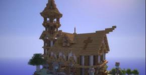 Церковь в Minecraft