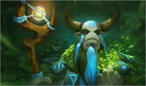 Dota 2 - Jungler: дровосек и его верные рабы