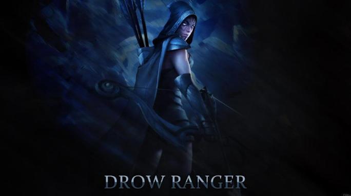 Drow Ranger/Тракса
