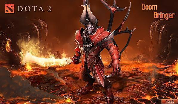 Doom в игре Dota 2
