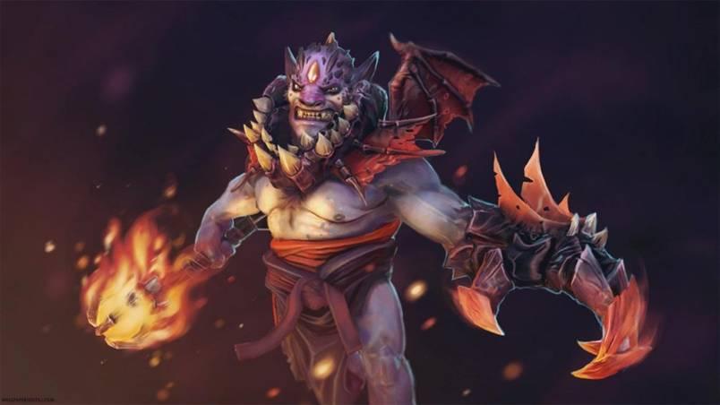 Dota 2: Демонический Lion - 3