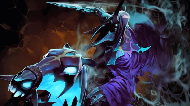 Dota 2: Мрачный всадник Abadon - 1