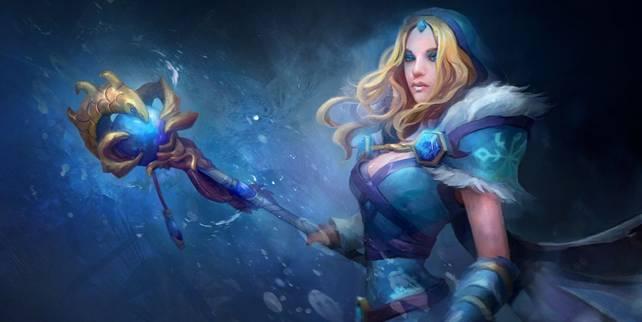 Гайд Dota 2: Crystal Maiden (Кристал Мейден) ледяная штучка 1