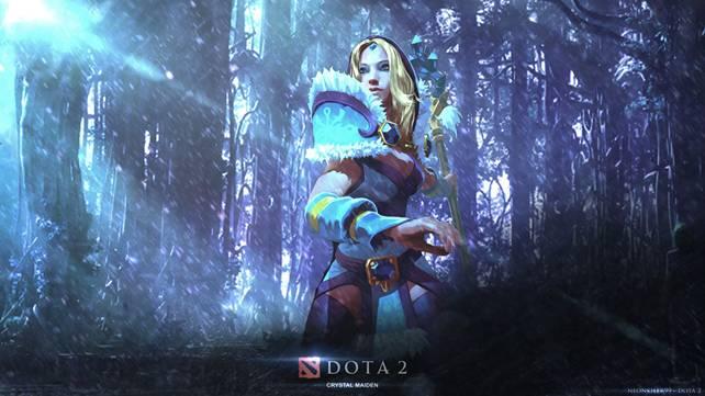Гайд Dota 2: Crystal Maiden (Кристал Мейден) ледяная штучка 2