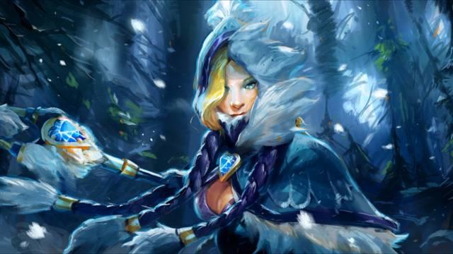 Гайд Dota 2: Crystal Maiden (Кристал Мейден) ледяная штучка 3