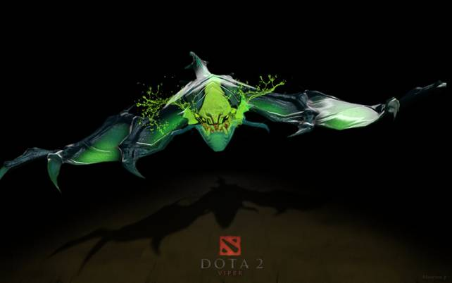 Гайд Dota 2: Ядовитая зверушка Viper (Вайпер) 3