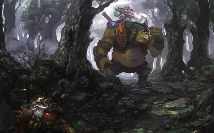 Dota 2: Гном и Тролль по имени Alchemist - 3