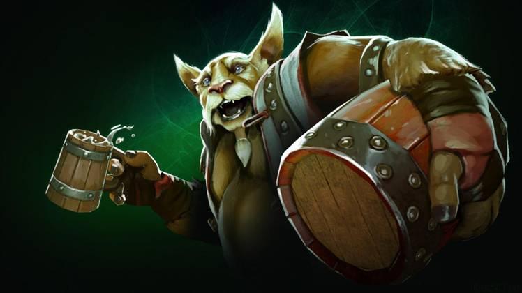 Dota 2: Пьяная панда Brewmaster