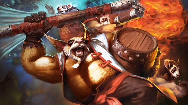 Dota 2: Пьяная панда Brewmaster - 3