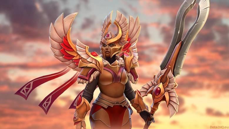 Dota 2: Боевая женщина Legion Commander