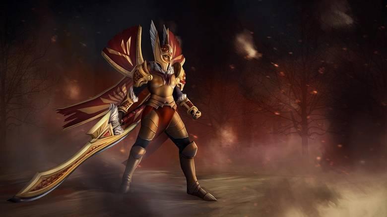 Dota 2: Боевая женщина Legion Commander - 3