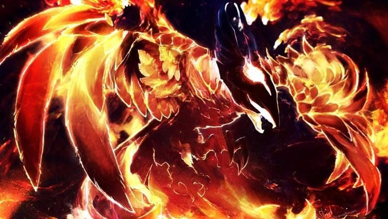 Dota 2: Огненная птица Phoenix - 2
