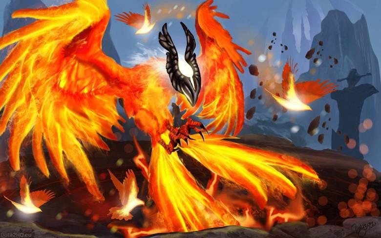 Dota 2: Огненная птица Phoenix - 3