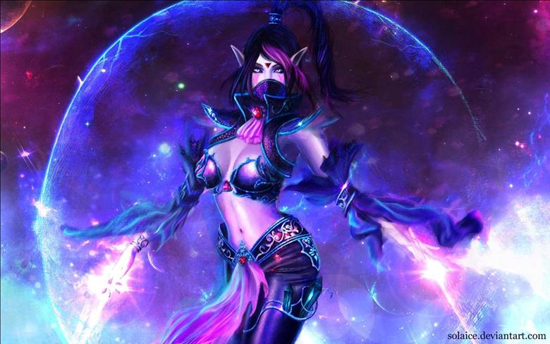 Templar Assassin (Темпларка, Ланая) - 2