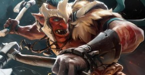 Dota 2: разрубающий Troll Warlord (Тролль)