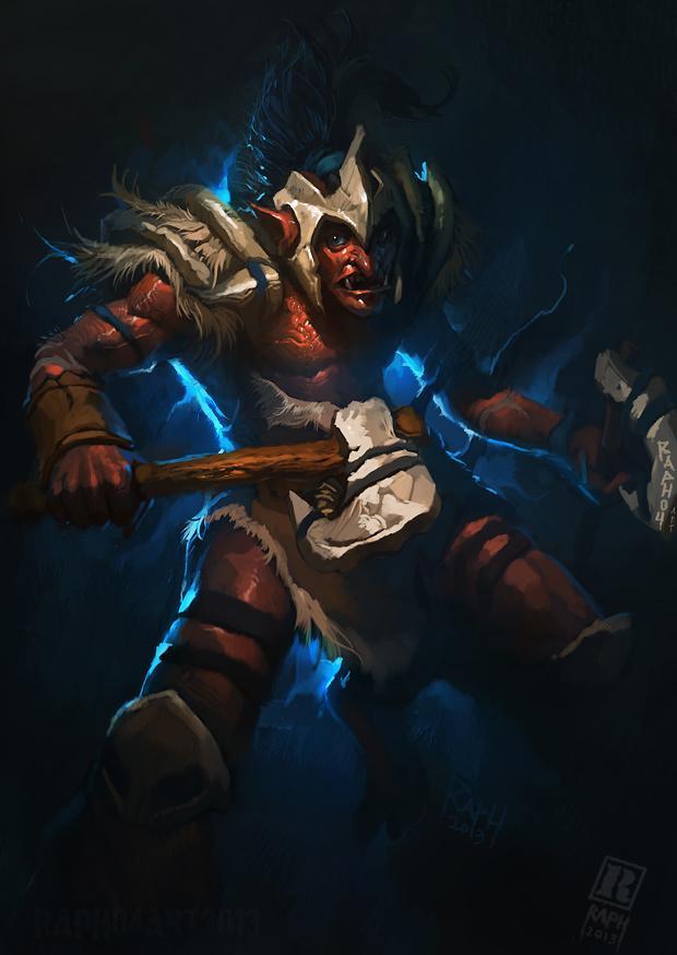 Troll Warlord (Тролль)