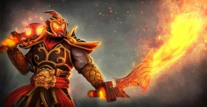 Dota 2: огненный Ember Spirit (Эмбер)