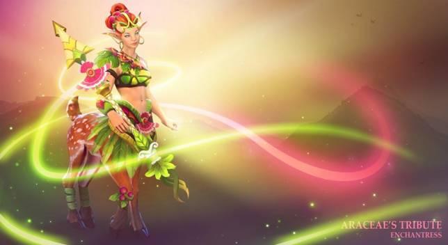 Dota 2: Enchantress или Лесная Коза. Гайд - 2
