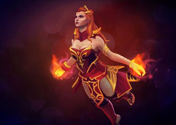 Dota 2: огненная Lina (Лина). Гайд - 3