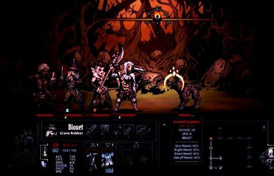 Игровой процесс (геймплей) Darkest Dungeon - 2