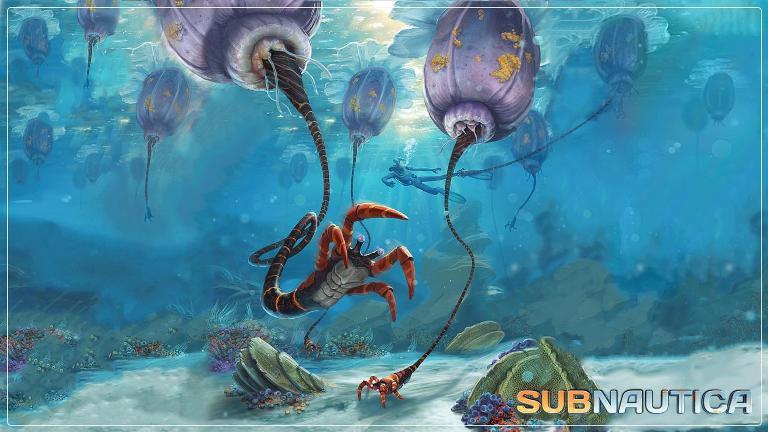 Игровой процесс (геймплей) Subnautica