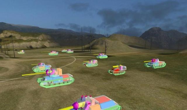 Трехмерные модельки танков