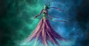 Dota 2: хозяйка духов Death Prophet (Банша)
