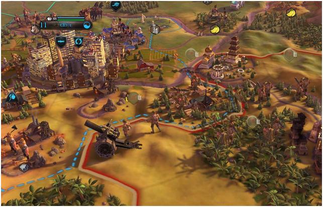 Военная тактика в Civilization 6