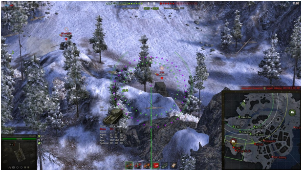 World of Tanks: как научиться играть на арте? - 3