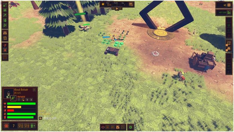 Начало игры и геймплей Community Inc