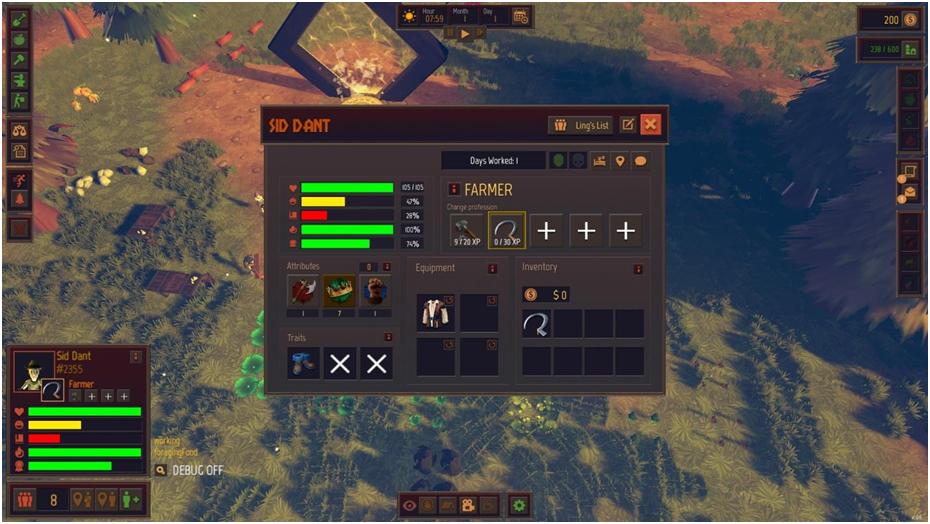 Система прокачки персонажей в Community Inc