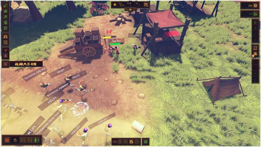 Система прокачки персонажей в Community Inc - 2