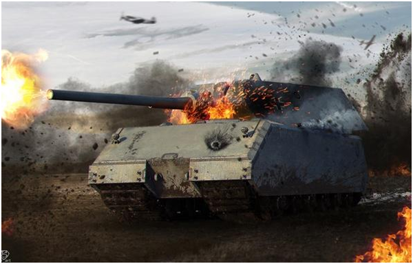 тяжелый танк десятого уровня Maus