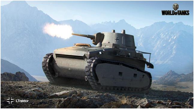 танк первого уровня Leichttraktor