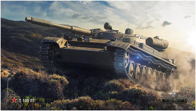 легкий танк десятого уровня Т-100 ЛТ